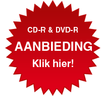 Aanbieding CD & DVD duplicaties